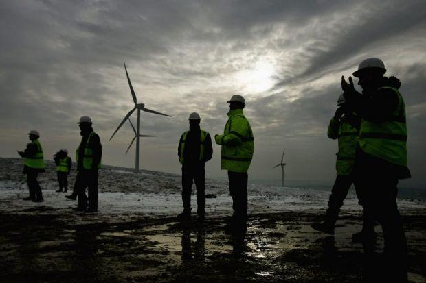 contract: SSE agreed in 2011 to sell its 50% interest in the Braes of Doune wind farm. Picture: Getty Images