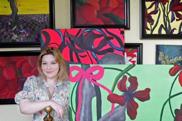 EMMA SCOTT-SMITH: She used her art to document her pain,