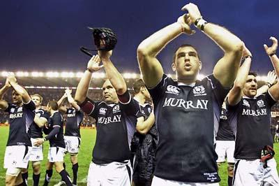 A Pizza Of The Action Scots Rugby Stars Reveal Secret Italy
