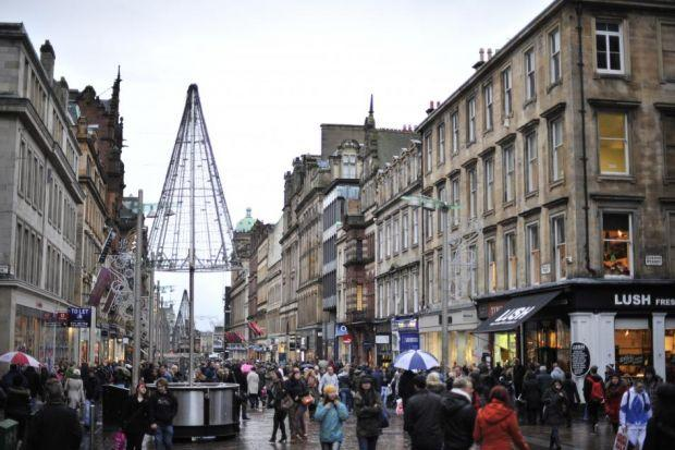 BLEAK OUTLOOK: The trading figures for Scotland's high streets continued to be weak, with no growth in sales value figures. Picture: Jamie Simpson