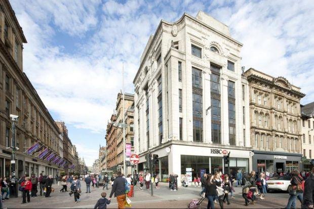 RETAIL: The sale of the HSBC bank building on Buchanan Street in Glasgow may soon see the property's upper floors being developed.