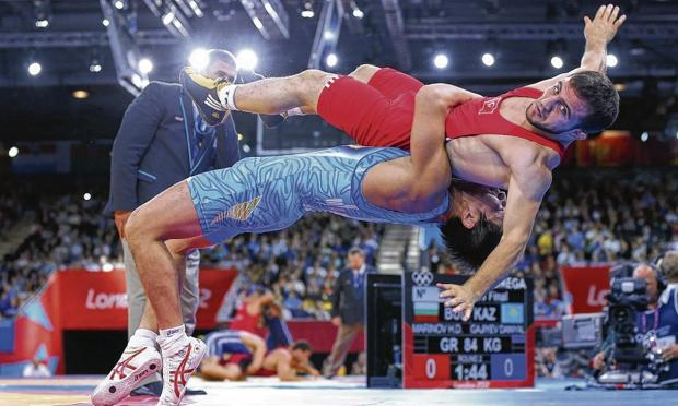 Wrestling will no longer be part of  the Olympics after 2016. Picture: Cameron Spencer/Getty Images