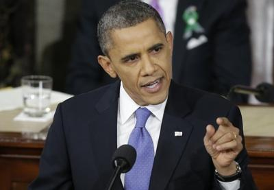 Obama focusses on US economic recovery and new EU deal
