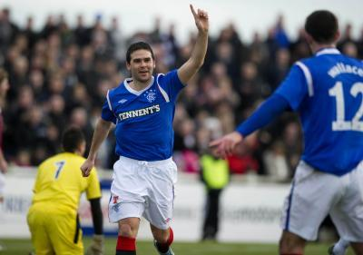 Ex-Rangers striker David Healy on assault charge
