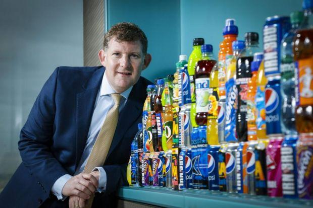 setback: Roger White, chief executive of AG Barr, which believes its £1.6 billion merger with larger rival Britvic will not lead to competition problems.