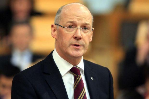 welcome SUPPORT: John Swinney has responded to the challenges reported by start-ups. Picture: PA