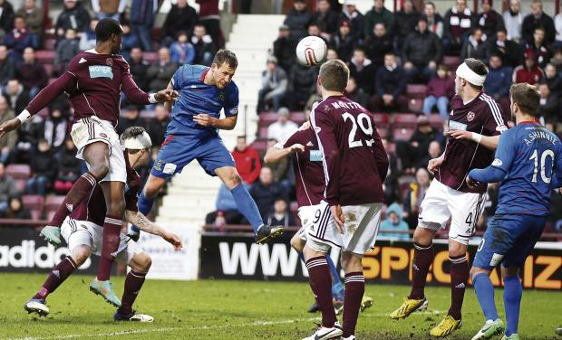 Inverness are looking to build on their victory at Tynecastle