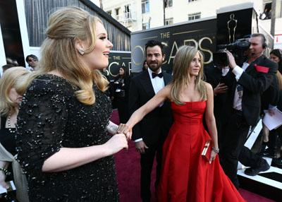 In Pictures: Hollywood glamour at the Oscars 2013