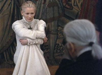 Tilda Swinton is the new face of Chanel