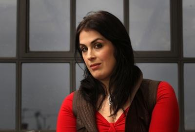 Rhianna Pratchett, daughter of Terry, who has written the storyline for the new Tomb Raider computer game
