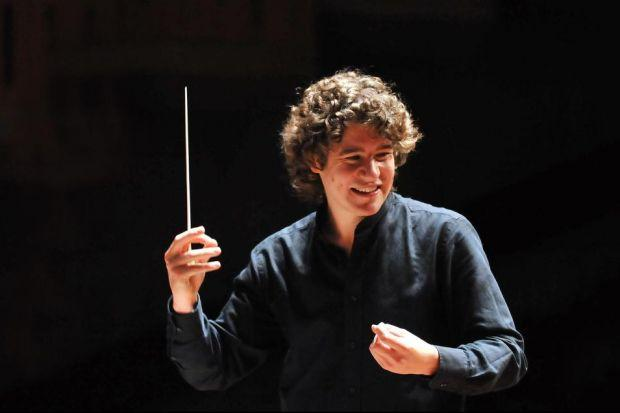ROBIN TICCIATI: The conductor will now remain in post until at least 2018, three years beyond his current contract, thus extending a happy relationship with the SCO.