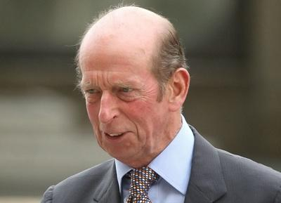 Duke of Kent, 77, suffers mini-stroke