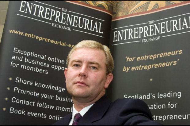 LEADING LIGHT: Tom Cross, the winner of the Entrepreneur of the Year award last year, has plans to grow Parkmead.