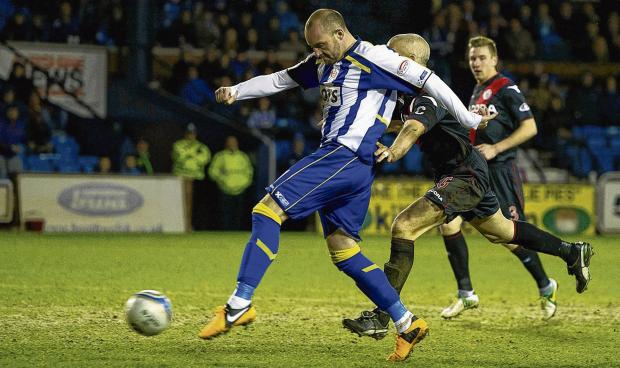 Kris Boyd lashes in his first goal since rejoining Kilmarnock