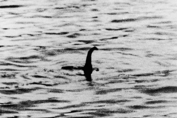 OUT OF THE DEEP: The 'surgeon's photograph', allegedly of the Loch Ness monster in 1934.