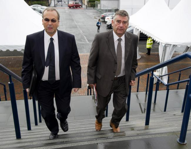 Roy MacGregor, left, is coming under increasing pressure