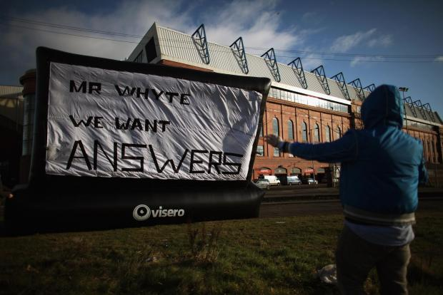 Rangers fans have been asking questions for some time without being given many answers