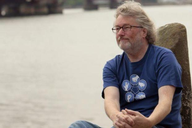 IAIN BANKS: Said messages were witty, heartfelt and funny.