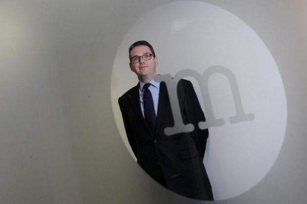 OPENING: Co-founder Chris Fisher set up the firm following the 2008 financial crisis. Picture: Stewart Attwood