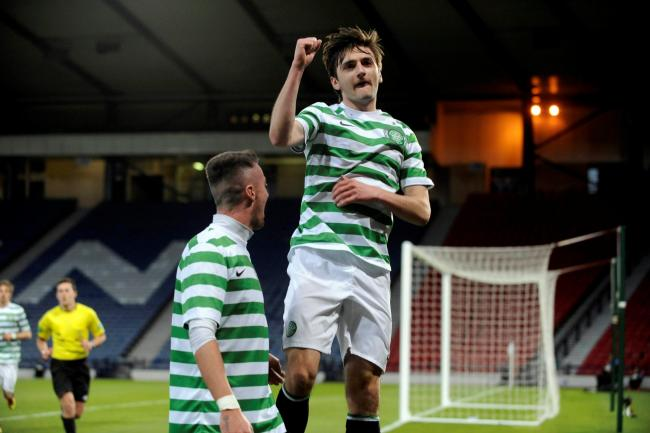Bahrudin Atajic hopes to get his full debut for Celtic after featuring on the bench. Picture: James Galloway