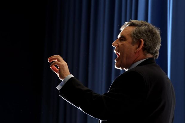 HEAVYWIGHT: Ex-PM Gordon Brown joins campaign for Union.