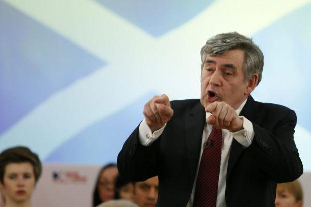 gordon BROWN: Said pooling of resources was a good reason for the Union to remain.