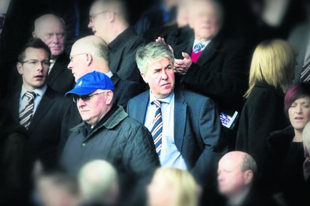 Malcolm Murray is unlikely to survive as Rangers chairman Photograph: SNS