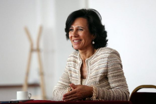 AMBITION: Ana Botin said the group wants to further grow its commercial banking team in Scotland. Picture: Mark Mainz