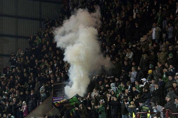 Flares or smoke bombs are among the problems the SFA's new strict liability rules would tacklePhotograph: SNS