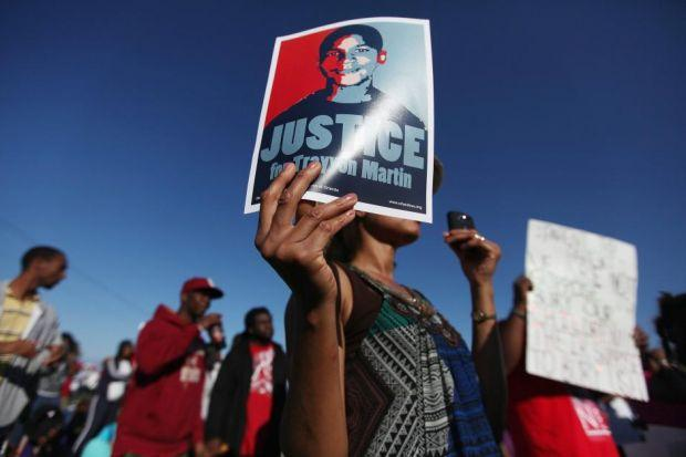 Campaigners, top, say Trayvon Martin was the victim of racism on the part of the man who shot him and the police who failed to make an arrest; above left, accused George Zimmerman Photographs: Getty Top, girls practise their moves; above, Angel Dairo and