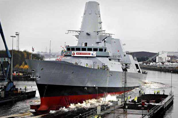 CIVIL ACTION: The legal row centres around the construction of the Royal Navy's new Type-45 destroyers when they were being built on Clydeside.