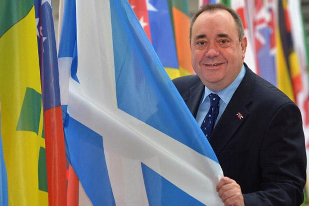 Salmond: iScotland manufacturing increase could boost exports by 50% and create 100,000 jobs