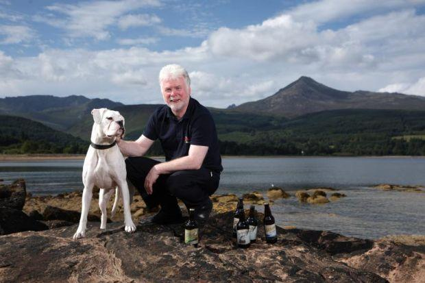 SCOPE TO GROW: Arran Brewery's managing director, Gerald Michaluk, said consumer thirst for craft beers across Europe is huge. Picture: Kevin Gibson