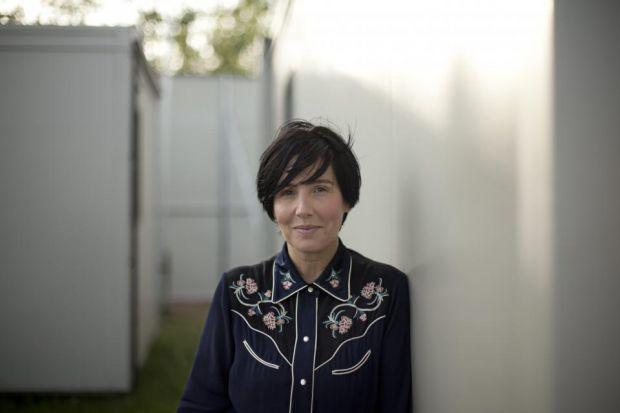 Sharleen Spiteri's picks include Simple Minds and Postcard seven-inch single covers. Photograph: Colin Templeton