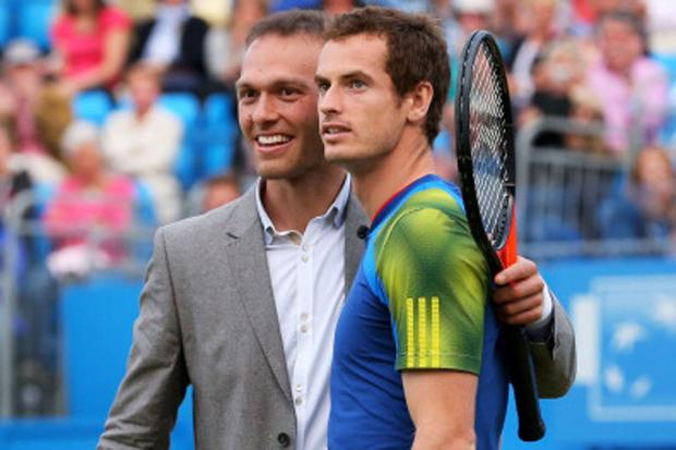 Andy Murray and Ross Hutchins