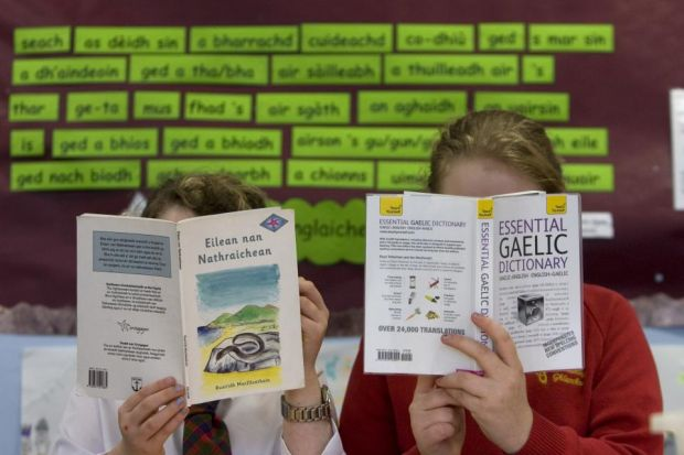 RESOURCE: The Faclair na Gaidhlig (Gaelic Dictionary) project will complement current learning materials and be available online. Picture: Colin Mearns