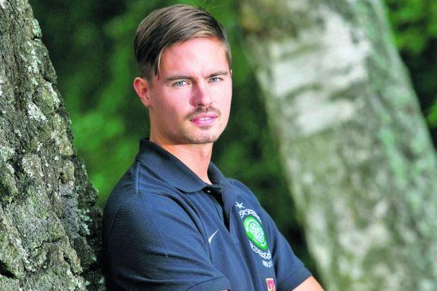 Mikael Lustig is determined to deliver a knockout blo