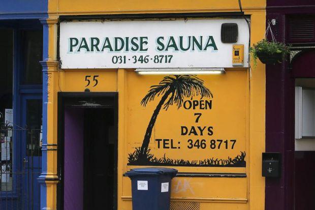 Blair Street Sauna Edinburgh