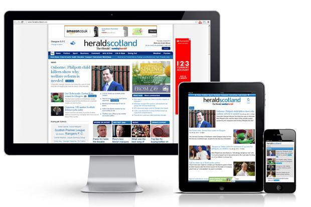 Herald & Times top awards short-list, including HeraldScotland subs service