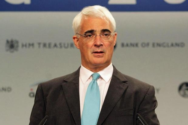 Alistair Darling said Scotland would have more clout within the UK