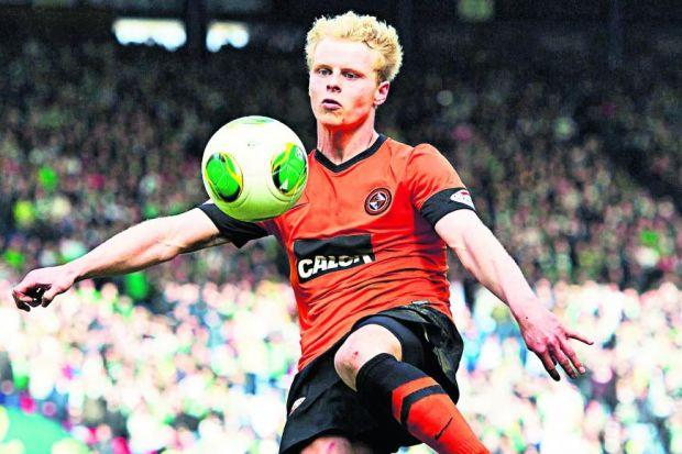 Gary Mackay-Steven hopes to earn a return to the Scotland squad by finding his best form for Dundee United Photograph: SNS