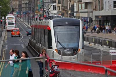 On the right track: 1,000 volunteers needed for Edinburgh tram test