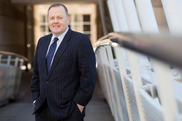 REBALANCING ACT: Head of the law firm??s banking and finance division, Graeme Henry, says HBJ Gateley is still confident. Picture: Susie Lowe