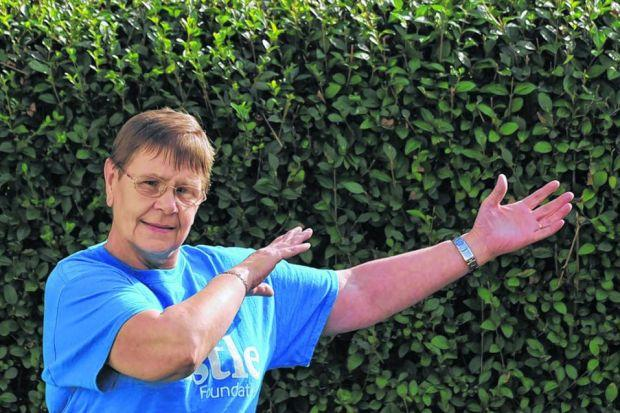 a BETTER WAY: Margaret Hendry turned her life around and now teaches tai chi classes. Picture: Julie Howden