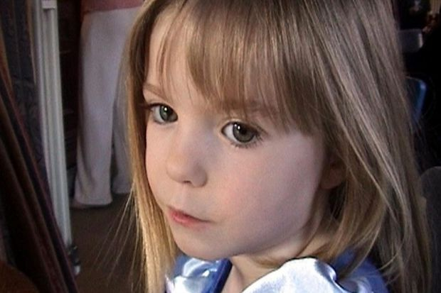 DISAPPEARED: Madeleine McCann was taken from a holiday apartment in Praia da Luz, Portugal in 2007.