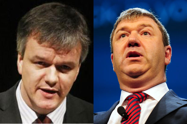 Michael Moore replaced as Scottish Secretary by Alistair Carmichael in Cabinet reshuffle
