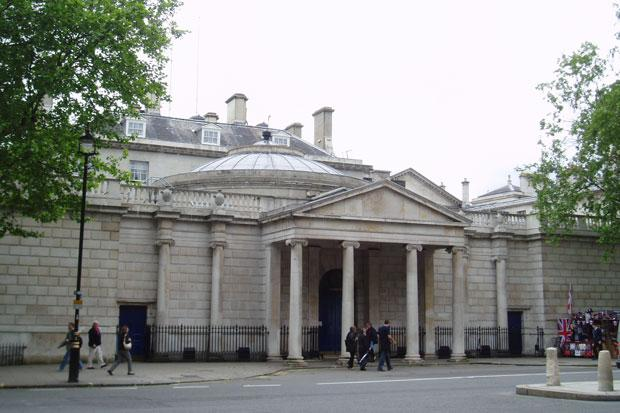 Dover House in Whitehall, headquarters of the Scotland Office