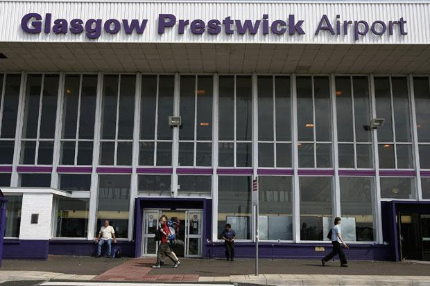 Prestwick Airport was put up for sale in March 2012