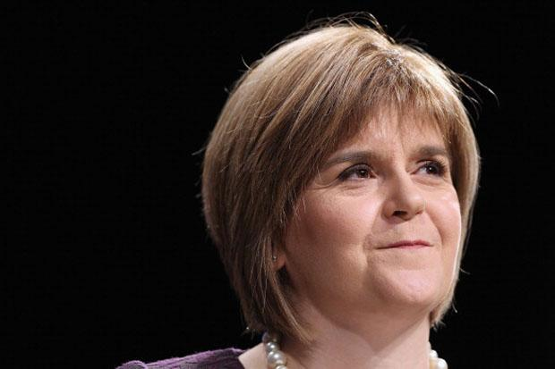 SNP promise to restore 50p top rate of income tax and hint at co-operation with Labour post election