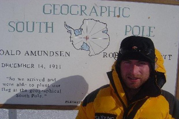 Intrepid Craig Mathieson is making history as the first Explorer in Residence at the Royal Scottish Geographical Society.